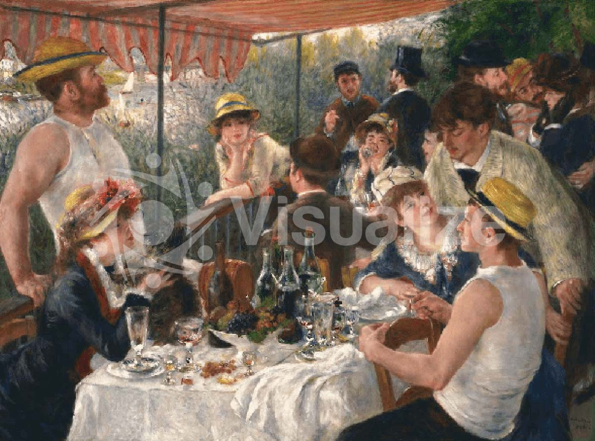 Pierre-August Renoir, Luncheon of the Boating Party, 1880-81