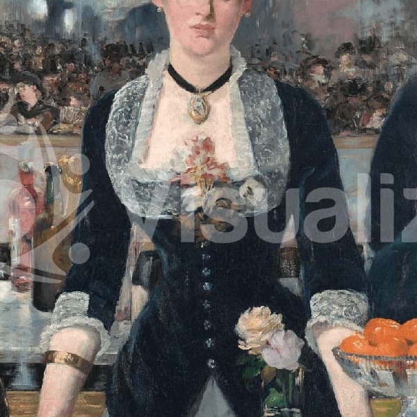 Edouard Manet, A Bar at the Folies-Bergère, 1882, Courtauld Gallery, London